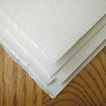 Arches MBM Ingres Paper White- Pack of 5 Sheets