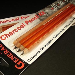 General Pencil Co. Charcoal Pencils Kit