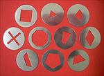 Makins Professional Ultimate Clay Extruder Disc Set A