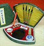 Sumi Painting Set in a Clamshell Box