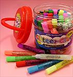 Glitter Glue Pens - Bonus Bucket Set of 50