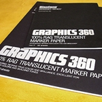 Graphics 360 Translucent Marker Paper