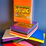 The Incredible Bulk Foam Pack - 9 x 12 inch - 50 Sheets - Assorted Colors