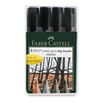 Faber Castell - Pitt Big Brush Pens - Classic Set of 4