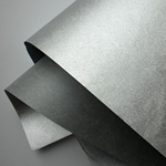 "Metallic Mulberry Paper - Silver 25""x37"" Sheet"