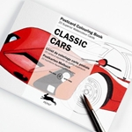 Pepin Postcard Colouring Postcard - Classic Cars