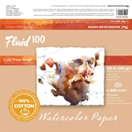 Fluid 100 Watercolor Paper Blocks - 300lb Cold Press