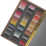 Girault Soft Pastel Sets- 100 Piece Portrait Set in a Wood Box