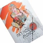 Pepin Artists' Colouring Books - Art Nouveau Fashion