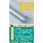 C&T Publisihing Premium Clear Vinyl Roll - 12 Gauge