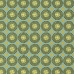 Blue & Green Pinwheels 19x26 Inch Sheet