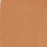 Hand Made Korean Hanji Paper- Burnt Orange