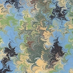 Stephen Pittelkow Hand Marbled Paper- Pattern #4