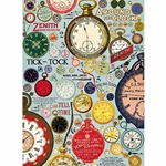 Cavallini Decorative Paper- Clocks