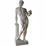 "Plaster Cast- Anatomical Male Figure 26"" Tall"