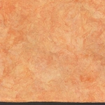 Amate Bark Paper from Mexico- Solid Naranja 15.5x23 Inch Sheet