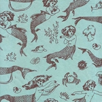 """NEW!"" Mermaid Printed Lokta Paper"