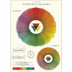 "Cavallini Decorative Paper- Color Wheel 20""x28"" Sheet"