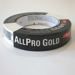 "ALLPRO Gold Professional Masking Tape - .94""x60 Yards"
