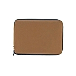 Global Art Genuine Leather Pencil Cases - Brown