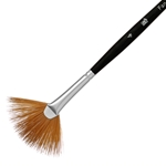 Princeton Elite Synthetic Kolinsky Sable Watercolor Brushes - Fan - Size 4