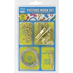 Picture Hook Kit - 50 Pieces