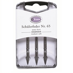 Brause L'Ecoliere Box of 3 Nibs - Medium Soft - 65
