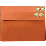 Star Products Red Fiber Art Envelopes & Expanding Portfolios