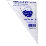 Pacific Arc Triangle Set 10""