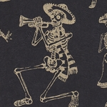 Day of the Dead Skeleton Dance Paper