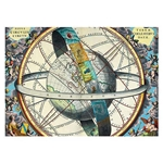 "Astrological Planisphere - Poster Paper 19.5 x 27.25"" Sheet"