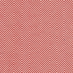 Moving Zig Zag Op Art (Optical Illusion) Paper- Red on Natural