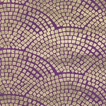 "Nepalese Gold Pavers- Gold/Purple 20x30"" Sheet"