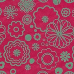 Nepalese Printed Flower Power Paper