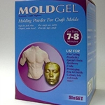 Art Molds MoldGel Slow Set Molding Powder for Craft Molds