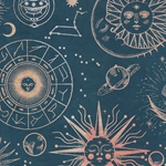 """NEW!"" Nepalese Printed Paper- Cosmic Bodies"