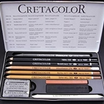 Cretacolor Skizzenset Sketching Set