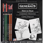 General Pencil Co. Learn to Draw Now! Drawing Kit