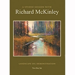 Richard Kinley- A Studio Session with Oil Painting DVD