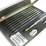 Cretacolor Monolith Box- Woodless Graphite Pencil Drawing Set