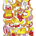 Jon Burgerman Note Cards