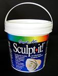 Sculpt it! Air Hardening Sculpting Material- Two Pound Tub