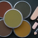 Pan Pastel Set of Five Earth Colors