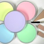 Pan Pastel Set of Five Tints (Light Colors)
