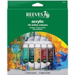 Reeves Watercolor Paints - Set of 12 Colors
