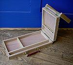 Large Split Hinge Brush Box