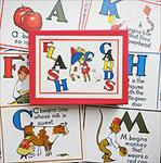 Cavallini ABC Flash Cards Boxed Set