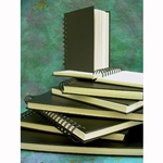Pentalic Black Cover Spiral Bound Sketch Books