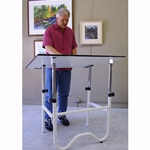 Onyx Folding Table - 30 x 42 inch surface