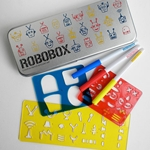 Robot Stencil Drawing Kit - Robobox